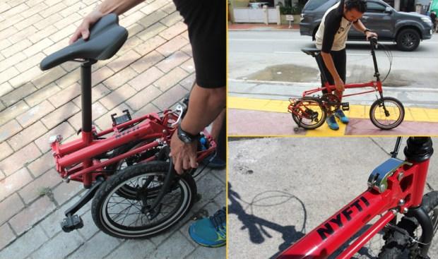 Nyfti Folding Bike