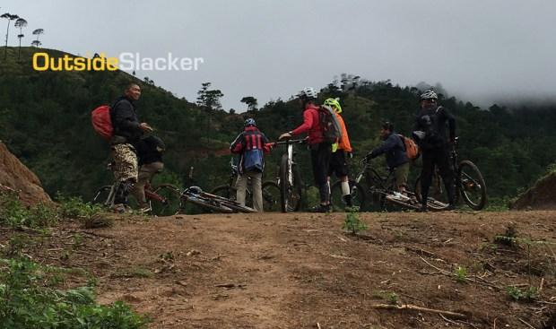 Mountain Biking Mt. Ugo