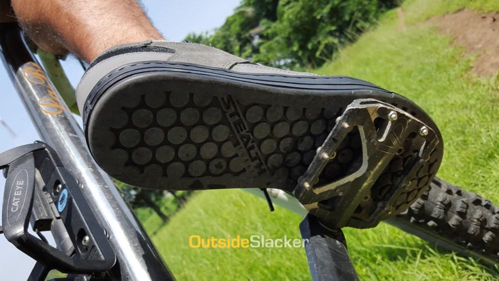 Flat pedals