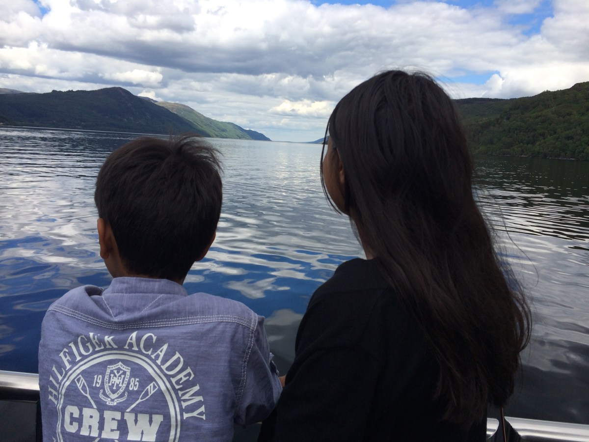 Looking for Nessie in Loch Ness and a trip to the Scottish highlands