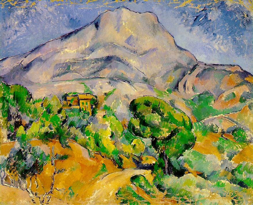 The man and his mountain : Paul Cezanne and Sainte-Victoire