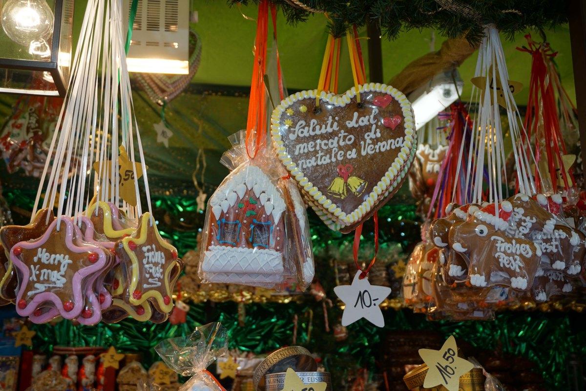 Christkindlmarkt in Verona, The City of Love