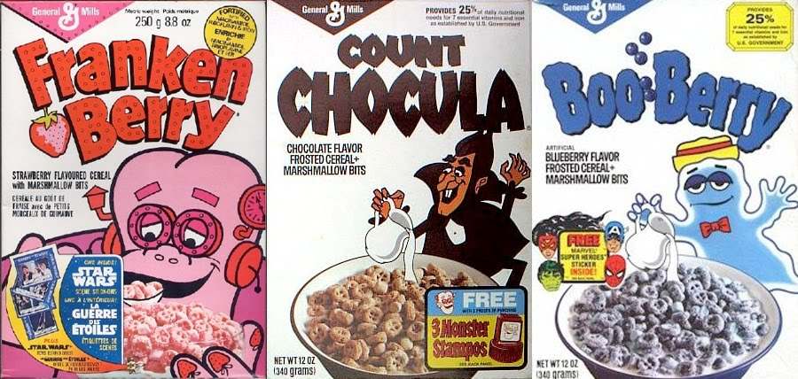 Image result for frankenberry count chocula