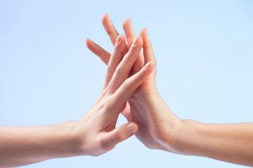 Why do we touch each other?