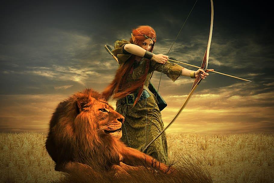 Warrior women past and present