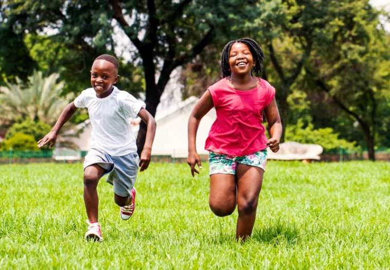 Get kids interested in running