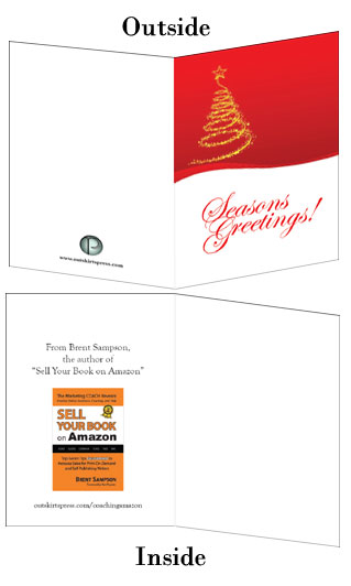 Greeting card self publishing news for self publishing authors holiday greeting cards for self publishing authors m4hsunfo