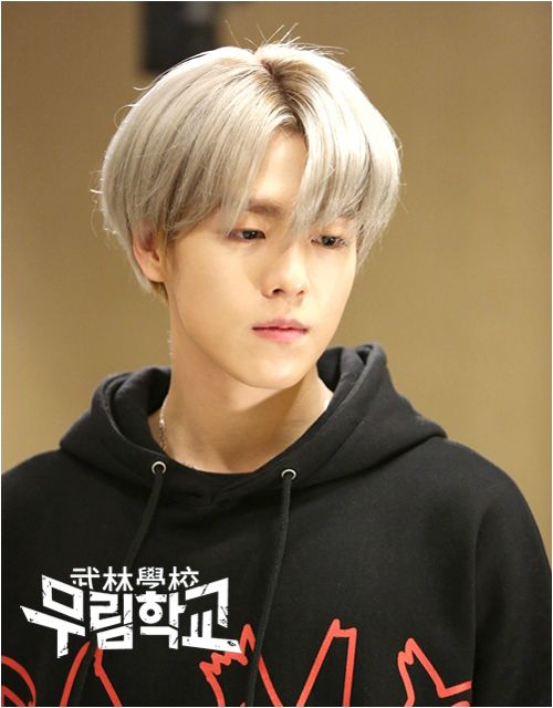 Lee Hyun Woo with White Hair