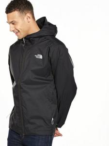 The Quest jacket is back with a bang. This outdoors classic from The North Face is perfect to throw on when required. In a sleek black colourway, the moisture managed outer shell delivers exceptional performance for even the most extreme activities. A front zip placket keeps you warm in cold conditions, whilst the fixed hood protects the head and neck when conditions deteriorate.