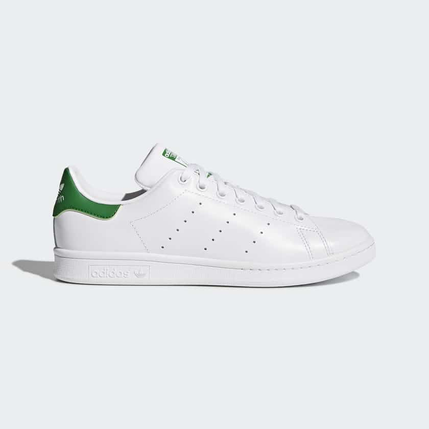 Classic White/Green Stan Smith Trainers