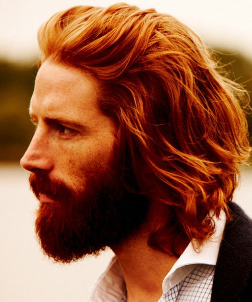Red Tousled Hair