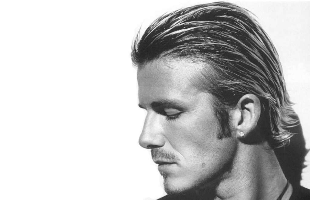 David Beckham Slicked Back Haircut - 9 amazing Men's Hairstyles for Thinning Hair