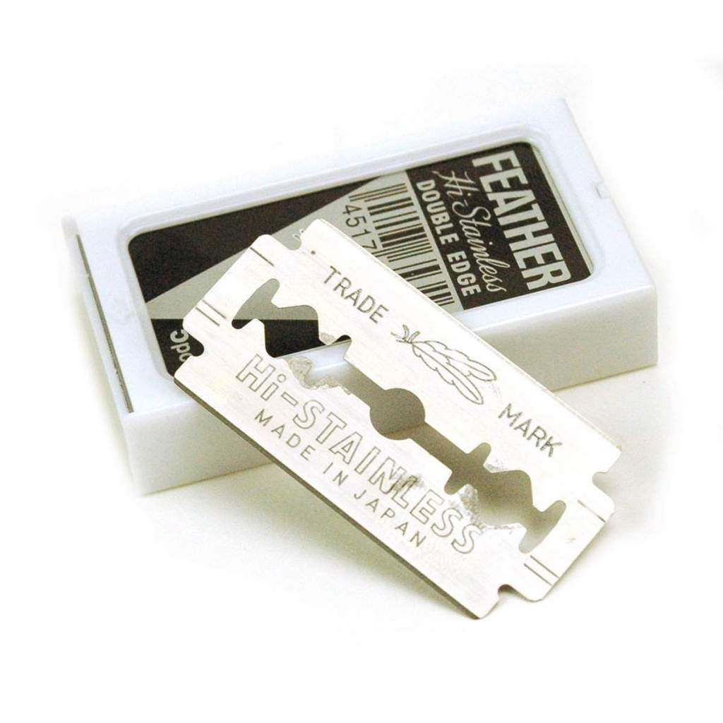 Feather Stainless Steel Double Edge Razor Blade