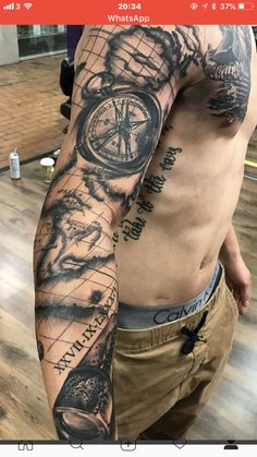 101 Compass Tattoo Designs For Men Outsons