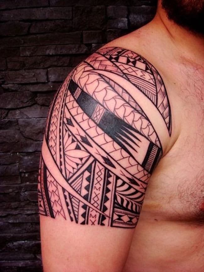 Tribal Shoulder Sleeve