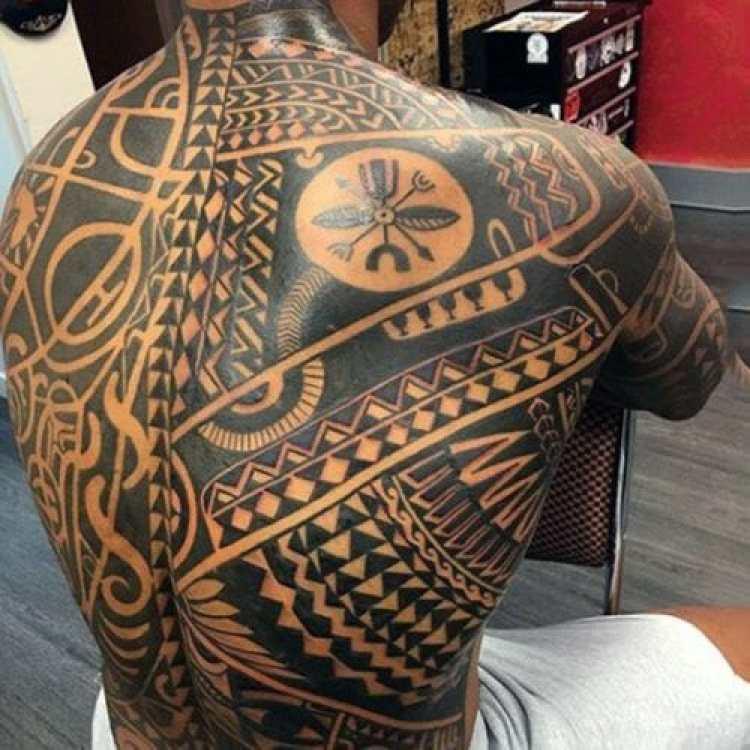 Polynesian Full Back Tattoos: 101 Awesome Tribal Tattoos For Men