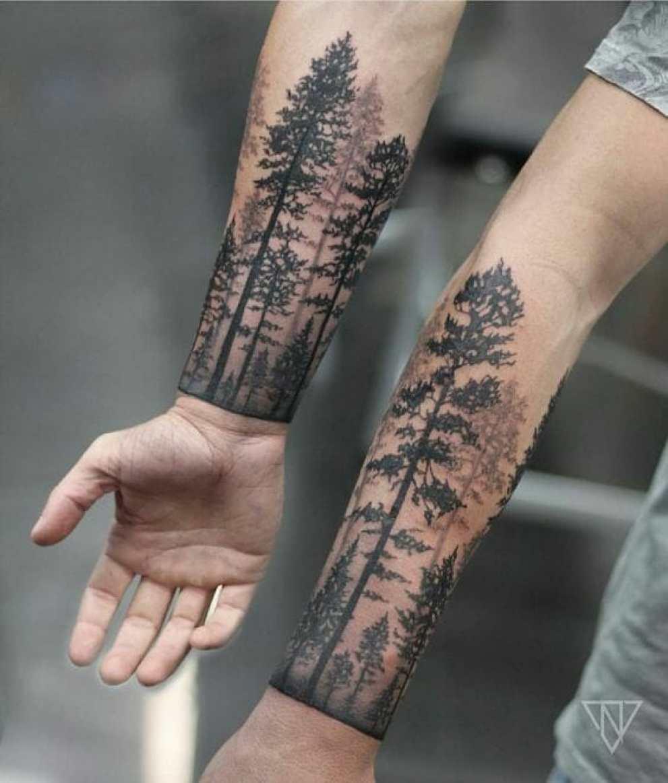 Forearm Tree Tattoo