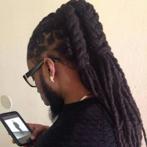 Long Ponytail Dreads