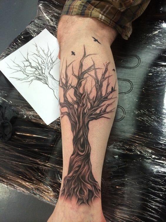 Forearm Tree Sleeve