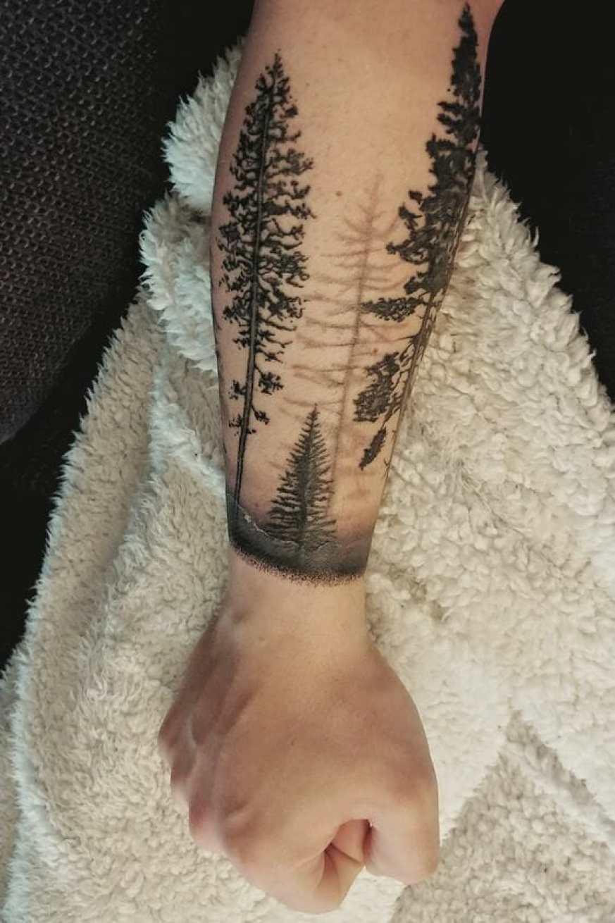 Forearm Tree Tattoos