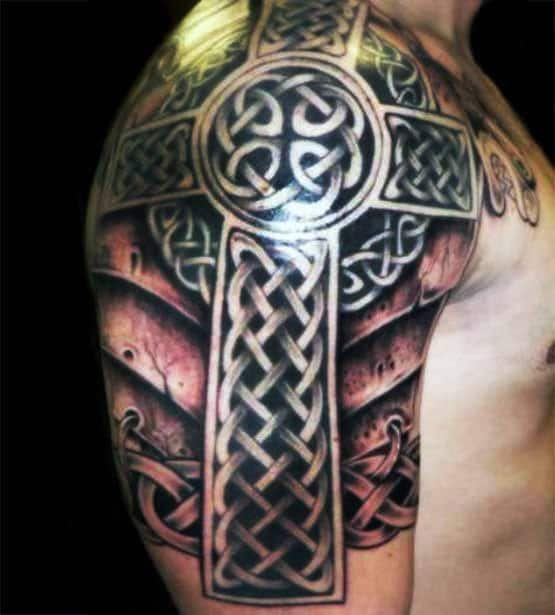 Celtic Cross Sleeve