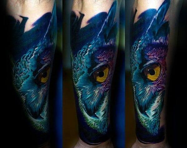 Colourful Mens Tattoo