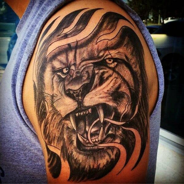 Lion & The Lamb Tattoo