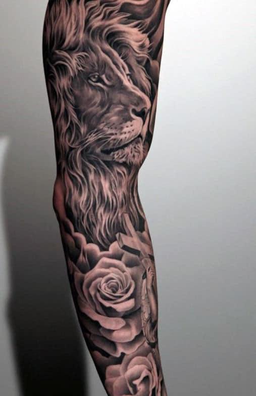 Arm Cross Tattoo Design