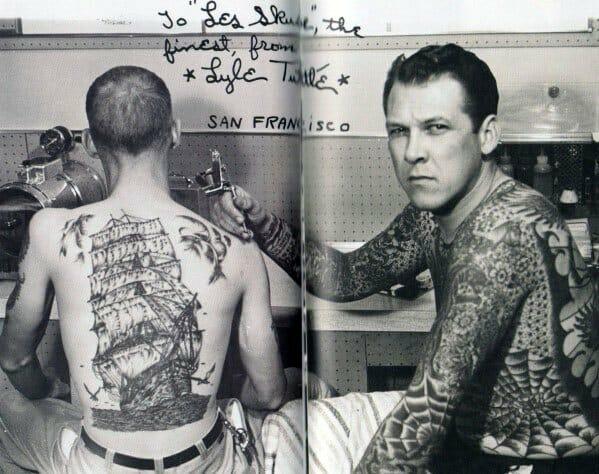 Vintage Back Tattoo