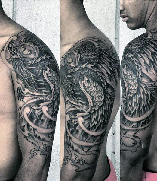 Tribal Phoenix Arm Sleeve