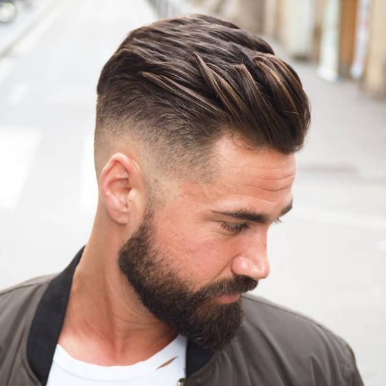 Layered Low Fade Haircut