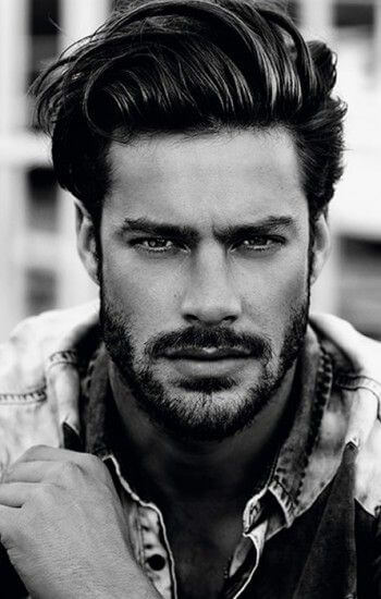 Slicked Hairstyle with Amazing beard stylex
