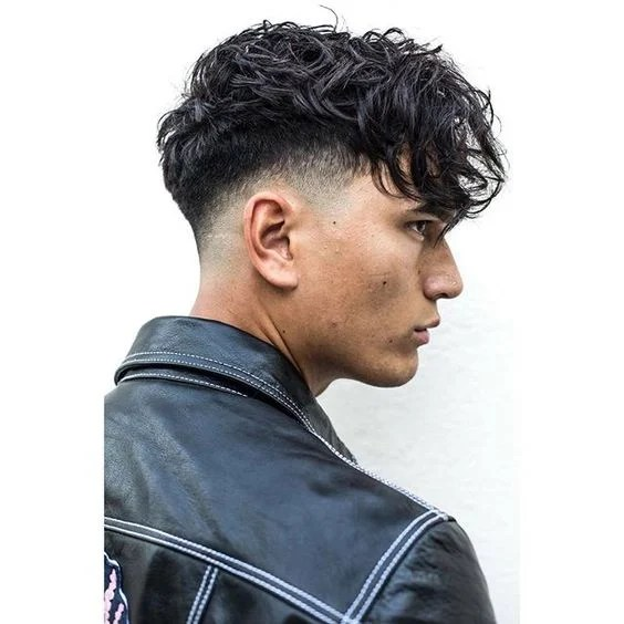 Low Fade with Fringe
