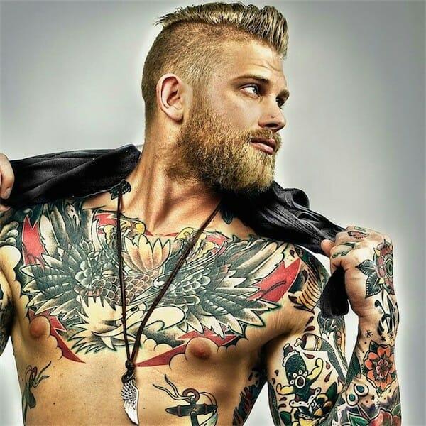 Cool Chest Tattoo