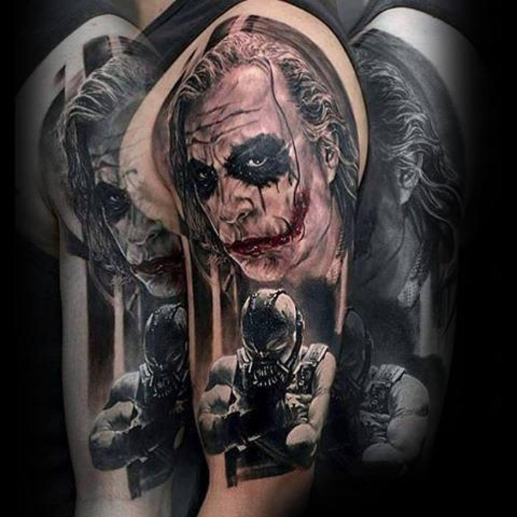 101 Joker Tattoo Designs For Men Incl Legs Backs