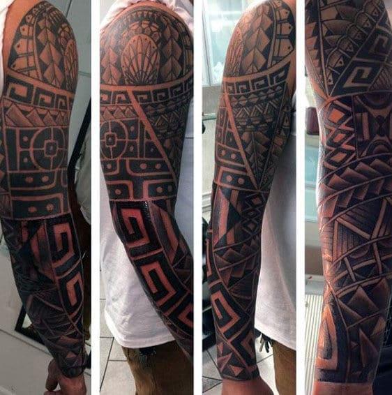 Cool Tribal Full Sleeve