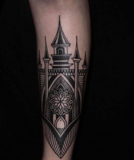 castle tattoo