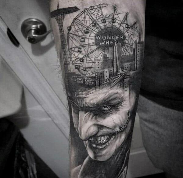 Awesome The Joker Full Sleeve