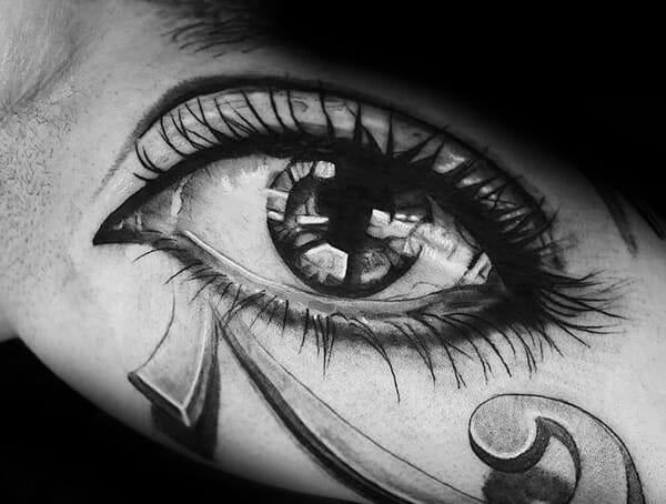 Eye of Horus tattoo