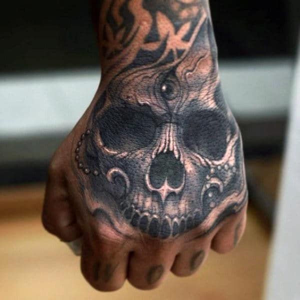 Eye In Skull Tattoo