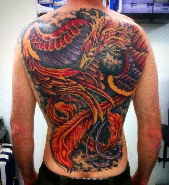 Raging Phoenix Tattoo