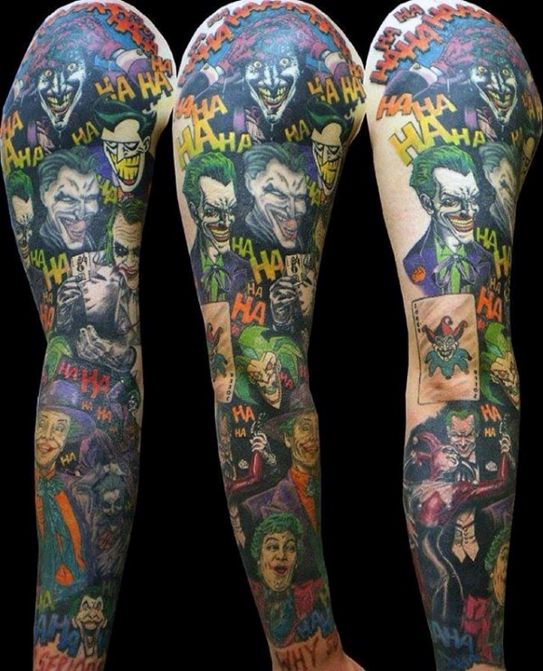The Joker Themed Sleeve