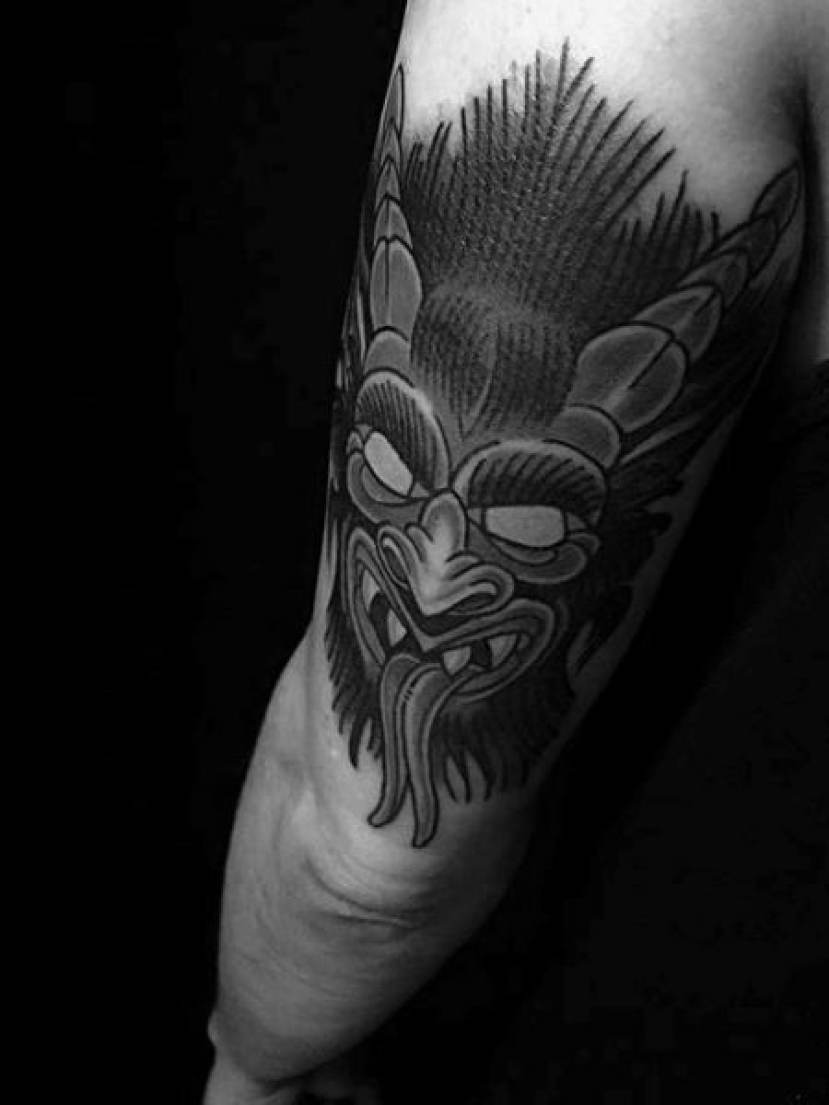 Demon Tattoo