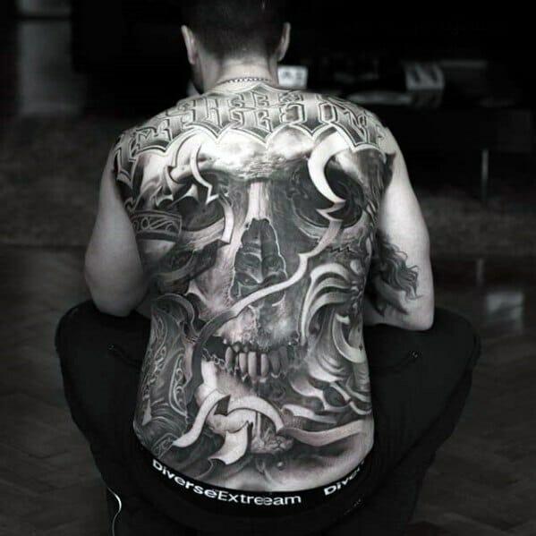 Incredible Skull Tattoo