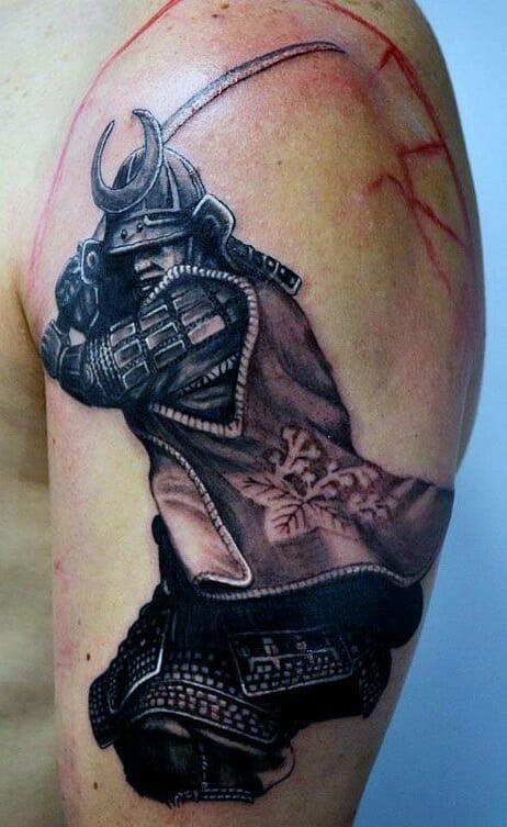 Male Samurai Warrior