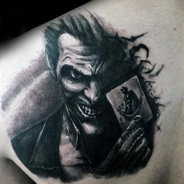 d2cfec0b19b93 101 Joker tattoo designs for men - (incl, legs, backs, sleeves, etc ...