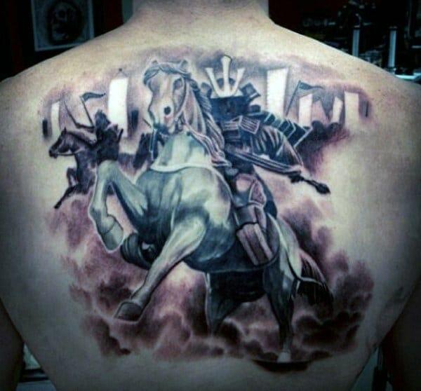 horse riding samurai