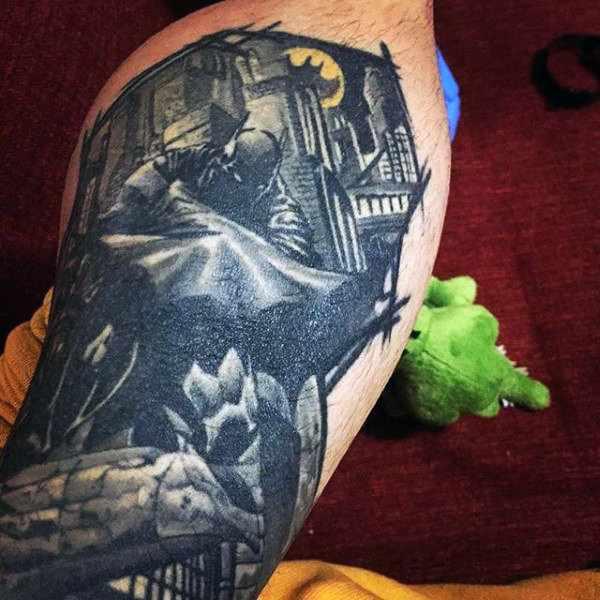 Batman Tattoo Design Idea