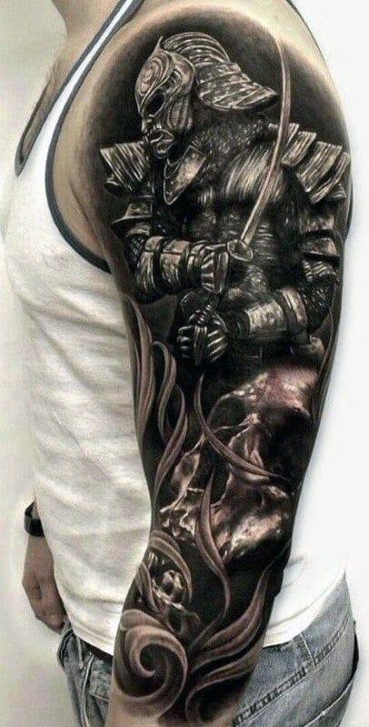101 Samurai Tattoo Designs For Men