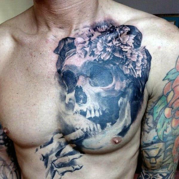 Unique Skeleton Tattoo